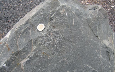 Basalte calco-alcalin de Rabodeau, carrière de Raon-l'Étape