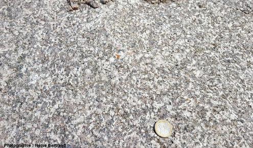 """Granite monzonitique de Senones (granite """"récent"""")"""