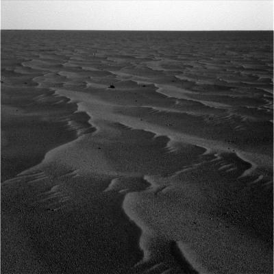 La morne plaine Meridiani Planum