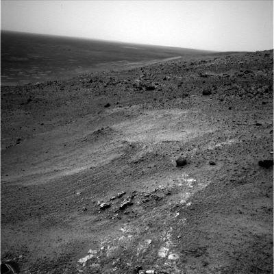 Un affleurement stratifié martien, sans nom