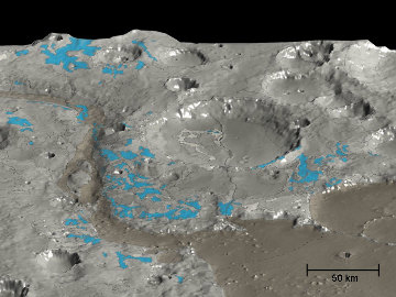 Image 3D de Marwth Vallis