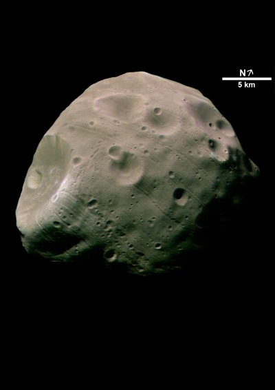 Phobos, satellite de Mars
