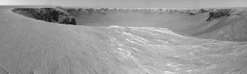Panorama sur le Cap Sainte Mary (Cape St Mary), Mars