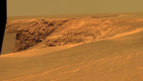 Panorama surde Mars le Cabo Frio (Sud de la Baie des Canards)