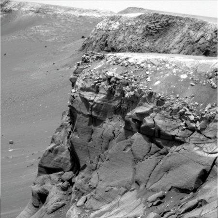 En direction du Sud depuis le Cap de Bonne Espérance (Cape of Good Hope), Mars