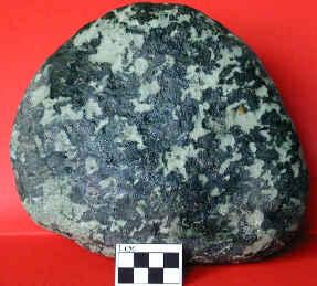 Échantillon de métagabbro du Queyras