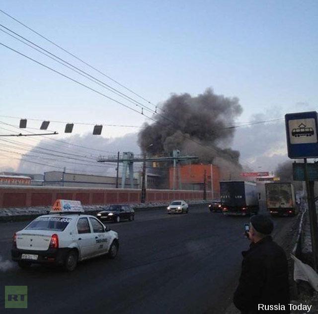 Incendie dans une usine de zinc au Nord de Tcheliabinsk suite à l'effondrement de son toit dû au blast