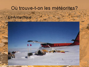 Atterrissage en Antarctique