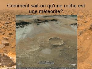 """Le cratère d'impact de Roter Kamm (27°45'18.02"""" S 16°16'45.86"""" E) en Afrique du Sud"""