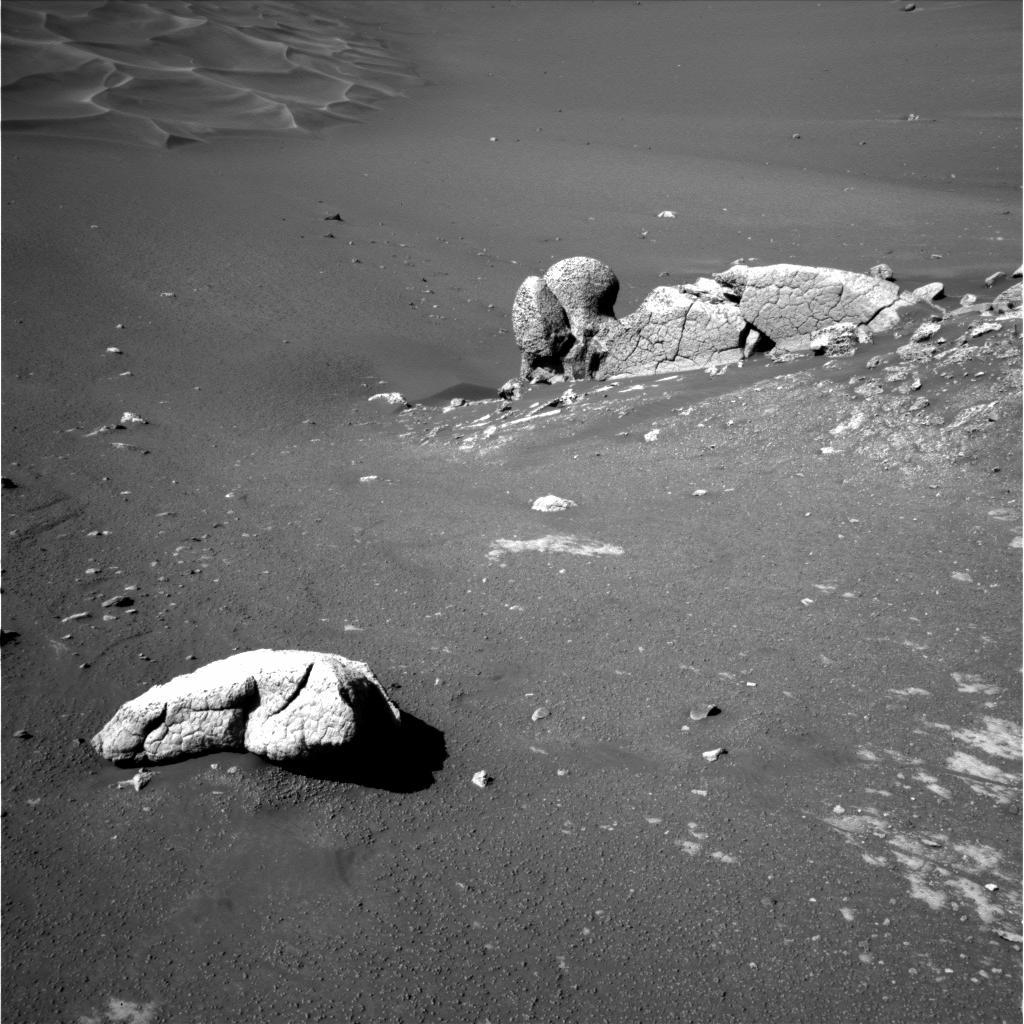 Vue d'ensemble des rochers Wopmay et Earhart