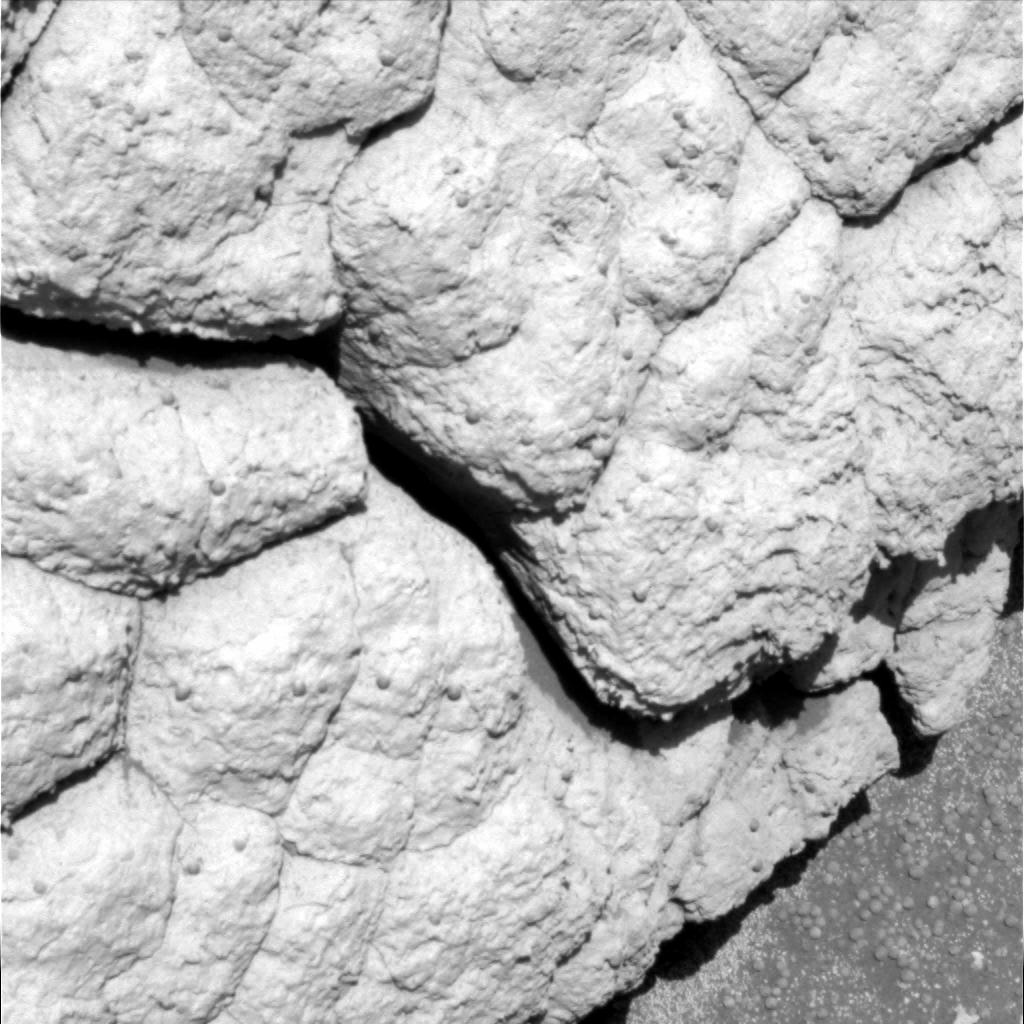 Vue de détail de la surface de Wopmay