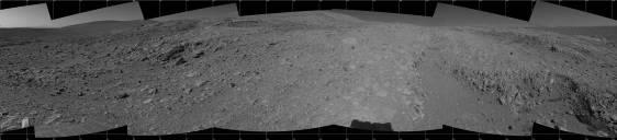 Vue panoramique de l'autre côté de la ligne de crête située près de West Spur