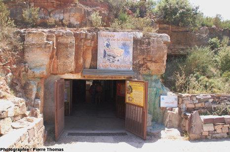 L'entrée de la mine et du musée