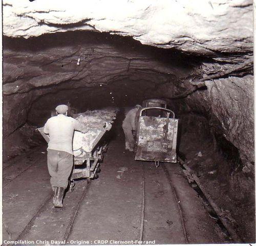 Exploitation de la mine de Dallet au cours du 20ème siècle