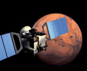 Mars Express en orbite autour de Mars