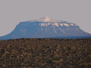 Le volcan Herdubreid en Islande