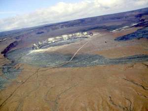 Caldeiras sommitales du Mauna Kea à Hawaii