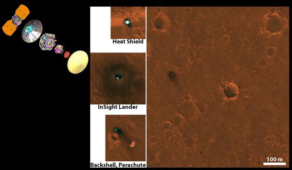 InSight, arrivée sur Mars