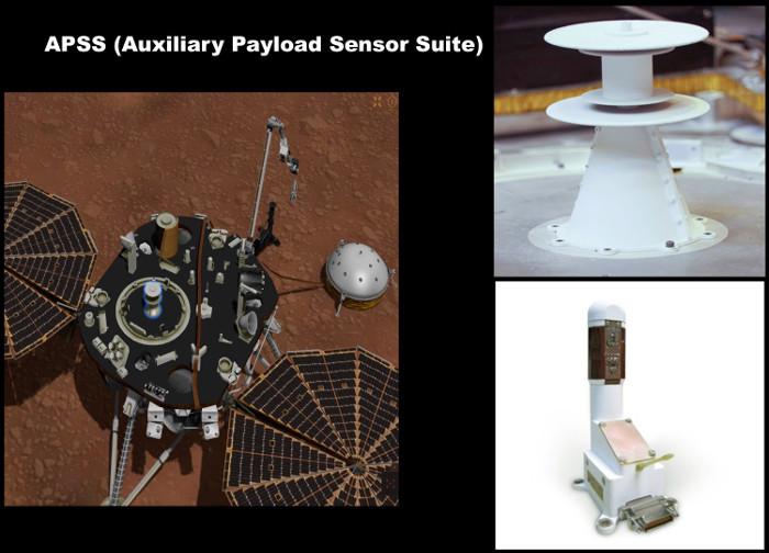 """Les équipements """"météo"""" d'InSight, APSS et TWINS"""