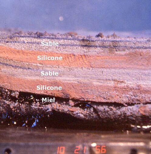 Maquette de modélisation mécanique de la lithosphère