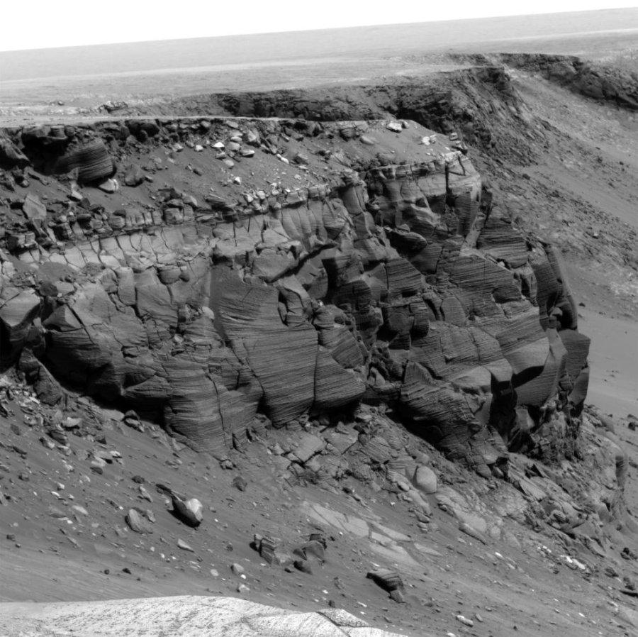 Mars / Opportunity: panorama du Cap St Vincent pris en mai 2007