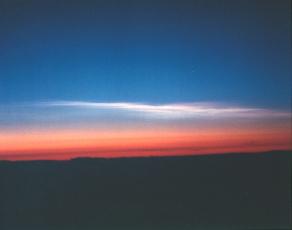 Nuages polaires stratosphériques de type I et II
