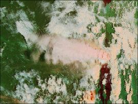 Éruption du volcan Nuiragongo, 17 janvier 2002