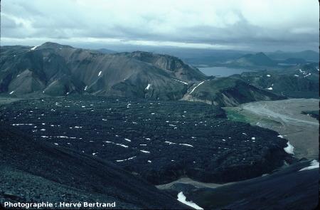 Coulée d'obsidienne du Laugahraun, Islande