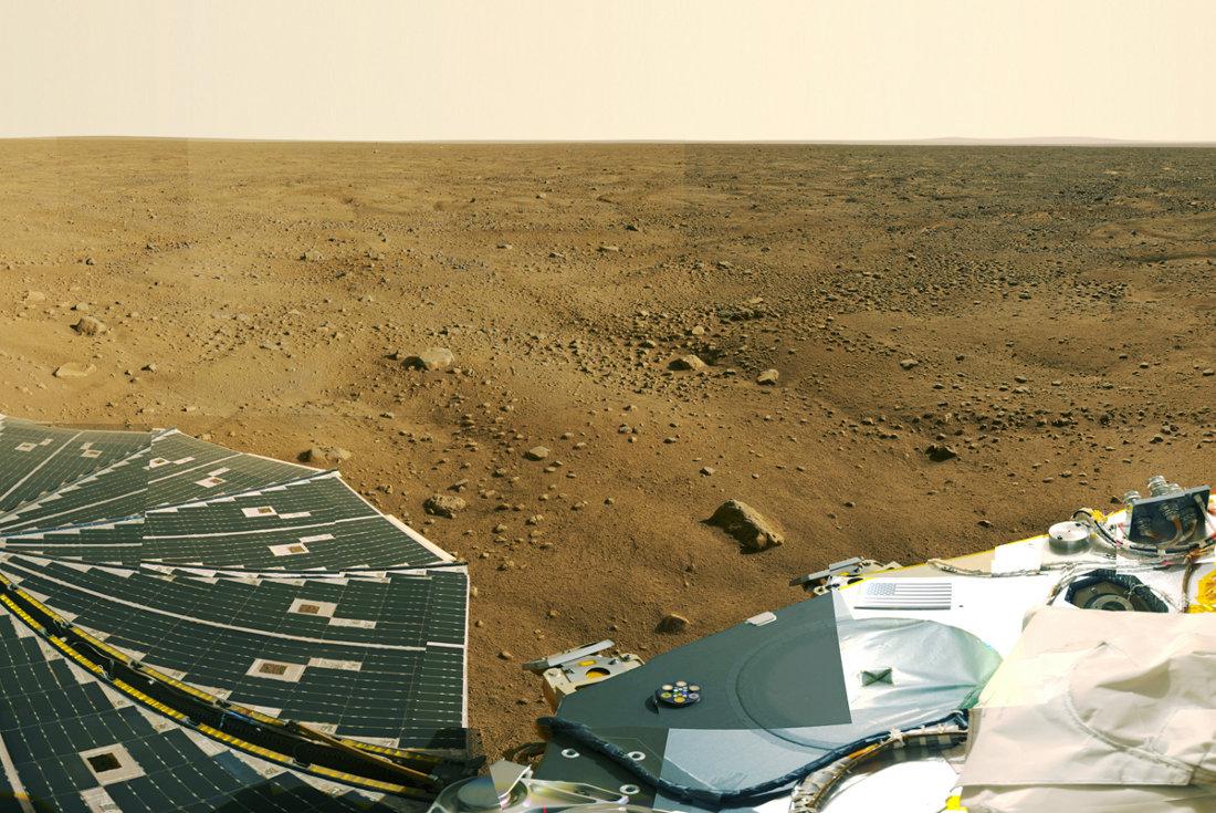 Phoenix et les sols polygonaux martiens péri-polaires