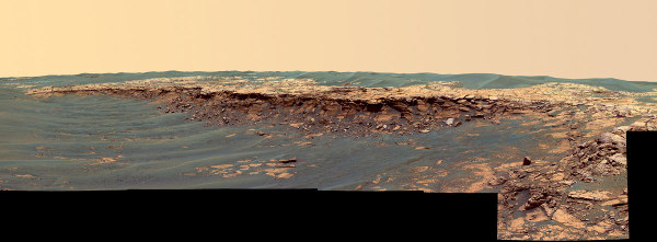 Le panorama nommé Payson, entre les cratères Endurance et Victoria (26 février 2006)