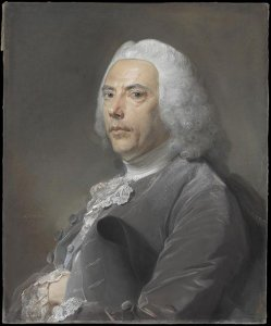 Portrait de Pierre Bouguer de l'Académie de Sciences