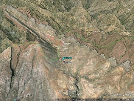 Le synclinal de Torotoro (Bolivie) et sescluses