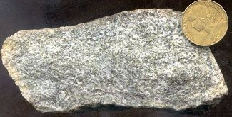 Échantillon de marbre à olivine