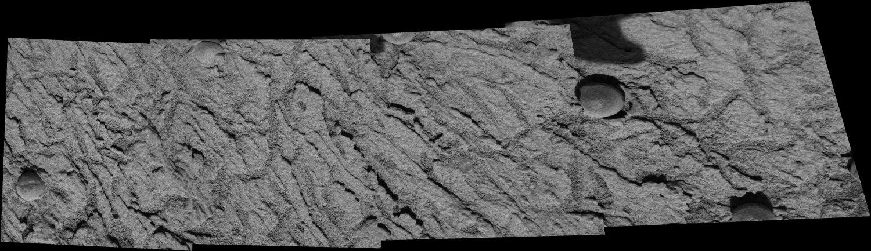 Détail, 16cm x 4cm, du rocher Pyrrho Mania