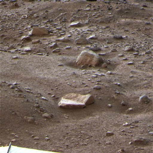 Mars: l'une des dernières images prises par Phoenix le 27 octobre 2008
