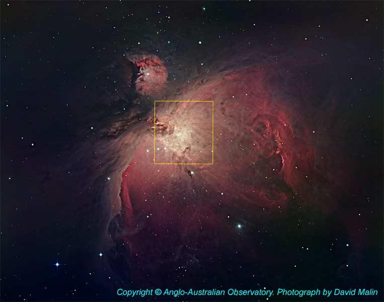 La nébuleuse d'Orion (M42)