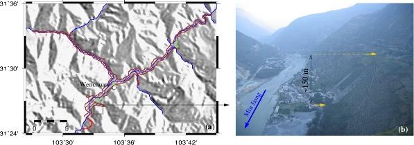 Wenchuan: situation et panorama