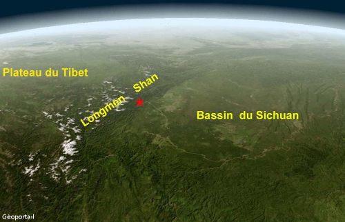 La chaîne des Longmen-Shan