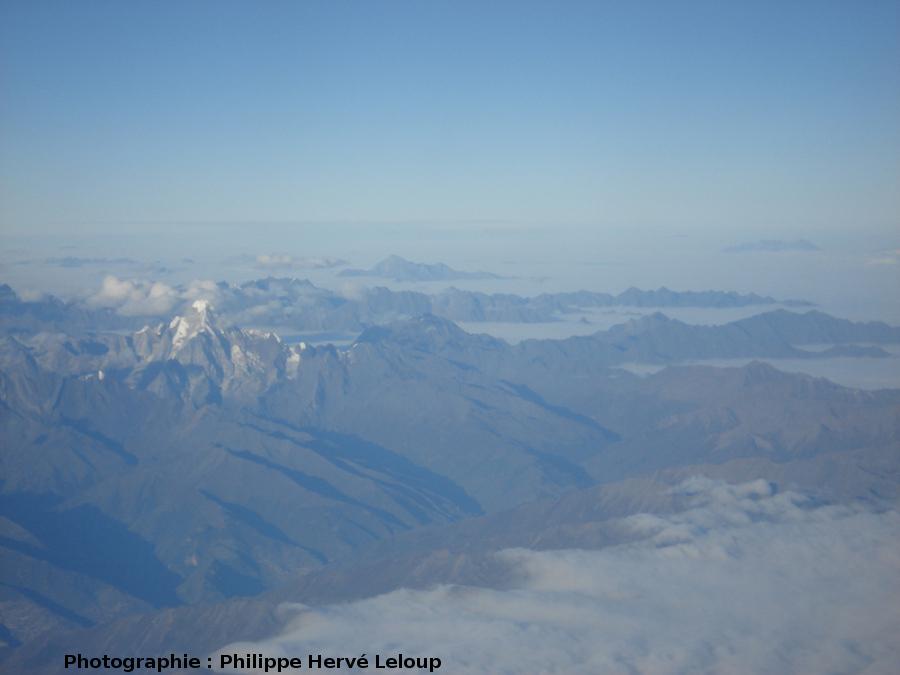 Les montagnes du Longmenshan (Chine)
