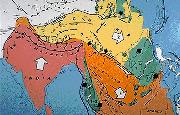 Zone de convergence Inde/Asie