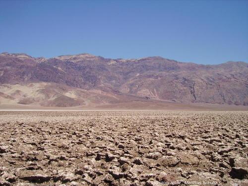 Devil's Golf Course, le terrain de golf du diable, au cœur de la Death Valley, Californie
