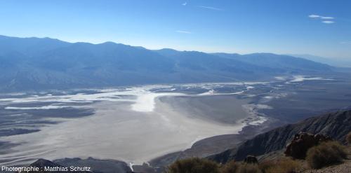 Le Nord de la Vallée de la Mort vu depuis Dante's View
