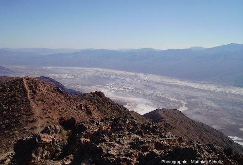 Le Sud de la Vallée de la Mort vu depuis Dante's View