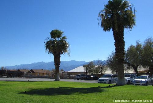 Quelques bâtiments près du Visitor Center, non loin de à l'entrée de la Vallée de la Mort stricto sensu