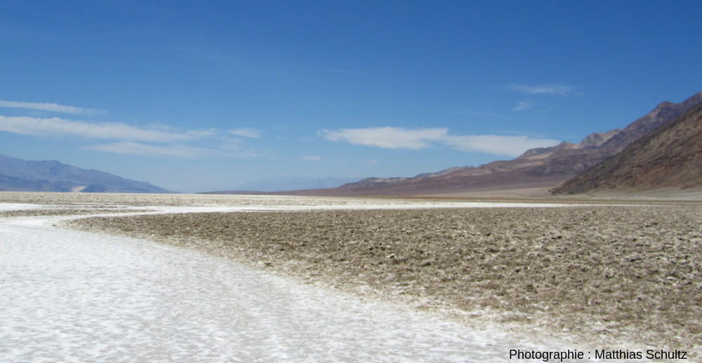 Playa à Badwater, Death Valley (Californie)