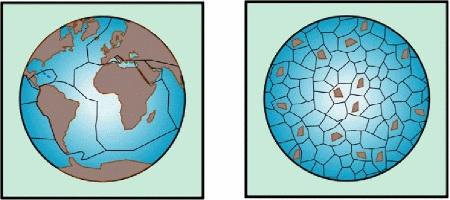 Tectonique des plaques, comparaison entre l'Archéen et l'actiuel