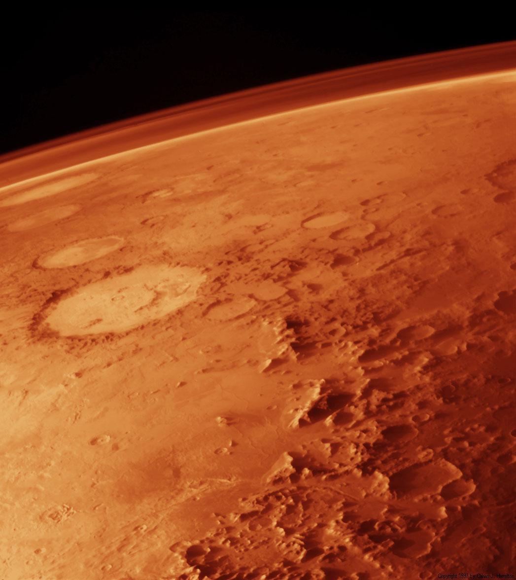 pourquoi la planete mars est elle rouge