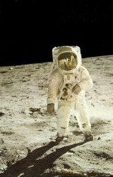 Astronaute d'une mission Apollo