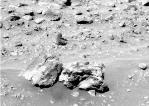 Basaltes à olivine dans la plaine de Gusev