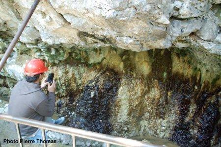 Sources pétrifiantes de Saint-Nectaire (Puy de Dôme)
